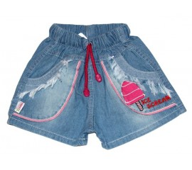 """Шорти джинсові для дівчинки  """"Ice cream"""""""