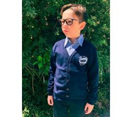 Джемпер для хлопчика з сорочкою