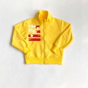 Куртка для дівчинки 2-нитка