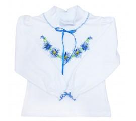 """Блузка -вишиванка для дівчинки """"Квіточки"""""""