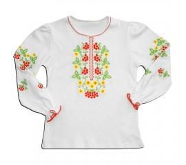 """Блуза для дівчинки """"Калинка"""""""