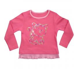"""Блуза дитяча для дівчинки """"Кошеня"""""""