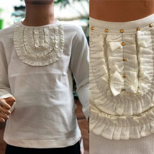 """Блуза для дівчинки """"Жабо-2"""""""