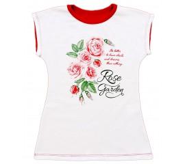 """Туніка підліткова для дівчинки """"Троянди"""""""