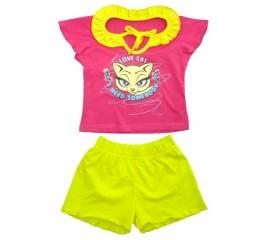 Піжама літній дитячий для дівчинки